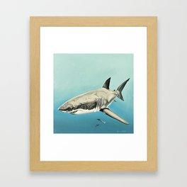 Scarlet Billows Framed Art Print