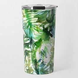 VIBE of the Jungle  {A-green} Travel Mug