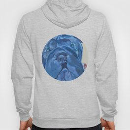 Khloe the Sharpei Portrait Hoody