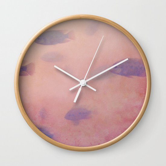 be buried Wall Clock