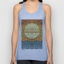 Sunset (Enlightened mind) Unisex Tank Top