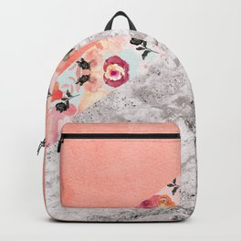 MIX IT BABY - CORAL MARBLE Backpack