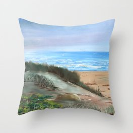 Lista-Norge by Gerlinde Throw Pillow