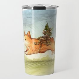 Faery mount Corgi Travel Mug