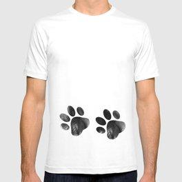Cat's footprints T-shirt