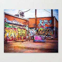 Graffiti Galore Canvas Print