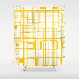 Labyrinthe Shower Curtain