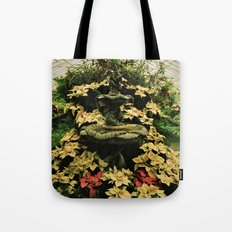 Floral Fountain Tote Bag