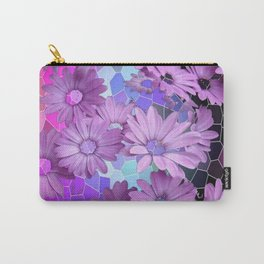ALIEN LILAC DAISIES FLORAL FANTASY Carry-All Pouch