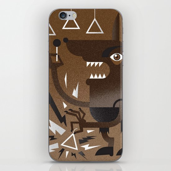 """Wolf"" Monster Rock iPhone & iPod Skin"