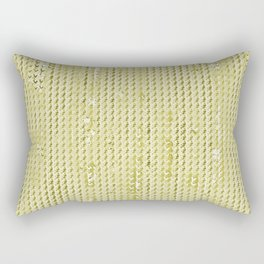 Wash Out Faux Burlap- Wheat Rectangular Pillow