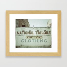 Tailors Framed Art Print