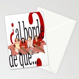¿al borde de que? Stationery Cards