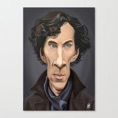 Celebrity Sunday ~ Benedict Cumberbatch Canvas Print