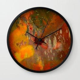 Splashes in Harmony Wall Clock