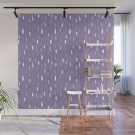 Stains Abstract Ultraviolet Wall Mural