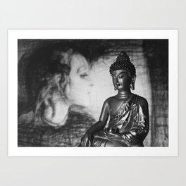 Medicine Buddha - The Healer Art Print