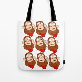 AWholeLottaPunchDrunkMonkeys Tote Bag