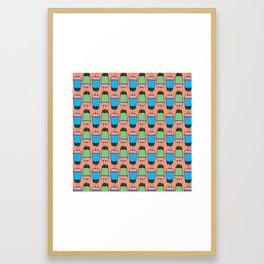 Bubble Tea Framed Art Print