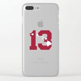 Aloha Tua Clear iPhone Case