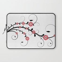 Floral Vine Laptop Sleeve