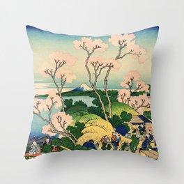 Fuji from Goten-Yama (High Resolution) Throw Pillow