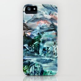 ICE LandsCape iPhone Case