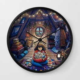Attic Wall Clock