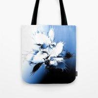 angel wings Tote Bags featuring Angel Wings by Brian Raggatt