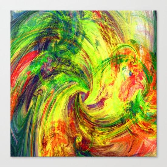 i love colours Canvas Print
