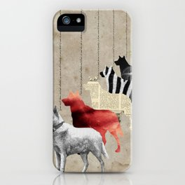 All alone iPhone Case