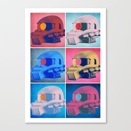 Zaku: Pop Art Canvas Print