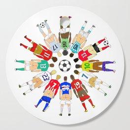 Soccer Butts Cutting Board