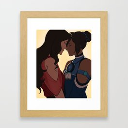 Korrasami is Canon Framed Art Print