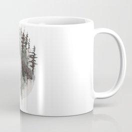 """Sometimes, even the snow is sad."" Coffee Mug"