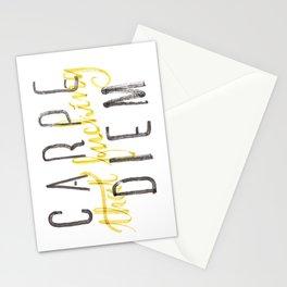 Carpe (that fucking) Diem (B&Y version) Stationery Cards