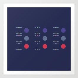 8 E=Chipup7 Art Print