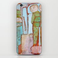 egyptian iPhone & iPod Skins featuring Egyptian Faience by cathie joy young