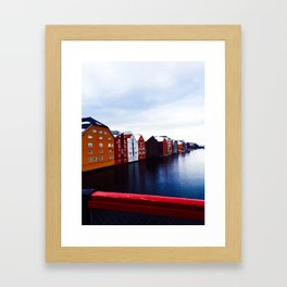 Colors Under Bridge  Framed Art Print