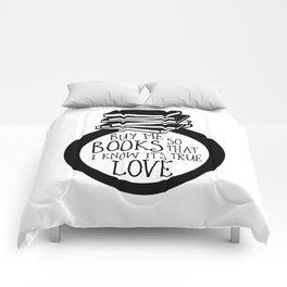 Bookish Engagment Comforters