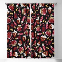 Witchy Love Potion III Blackout Curtain