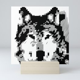 digital wolf 0000 //// Mini Art Print