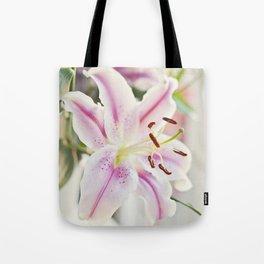 Stargazer Lily Tote Bag