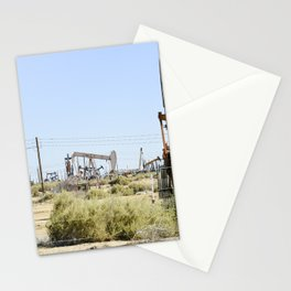 Oil Rig II Stationery Cards