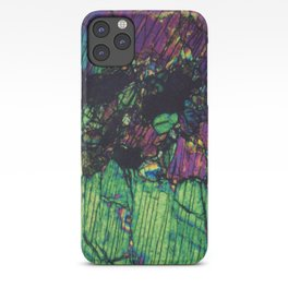 Pyroxene Crystals iPhone Case