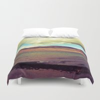 the national Duvet Covers featuring National Forest by Christel Sayegh