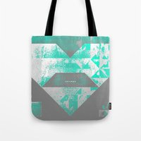 spires Tote Bags featuring spires dymynd by Spires