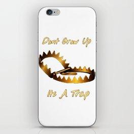 Dont Grow Up iPhone Skin