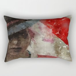 Clandestine Rectangular Pillow