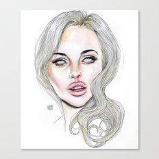Lindsay By Lucas David 2015 Canvas Print